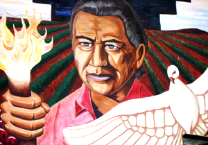 Artwork for Cesar chavez mural